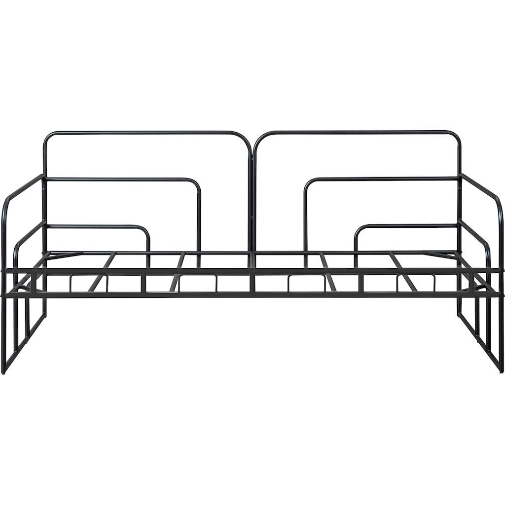 INOSIGN Bettgestell, aus Metall, auch gut geeignet als Gästebett oder Daybed
