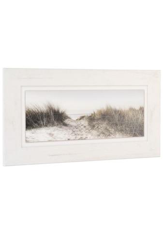 Home affaire Holzbild »Düne«, 80/40 cm kaufen