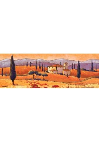 Home affaire Kunstdruck »Toskanische Landschaft« kaufen
