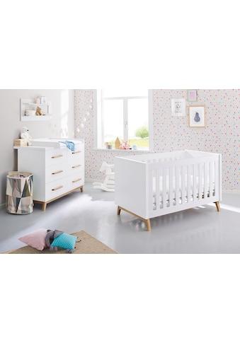 Pinolino® Babymöbel-Set »Riva«, (Spar-Set, 2 St.), extrabreit; mit Kinderbett und... kaufen