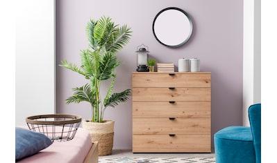 my home Sideboard »Duero«, mit 4 Schubkästen, Breite 90 cm kaufen