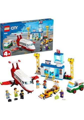 LEGO® Konstruktionsspielsteine »Flughafen (60261), LEGO® City«, (286 St.), Made in Europe kaufen