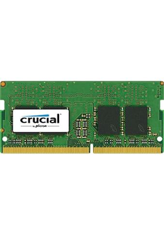 Crucial Laptop-Arbeitsspeicher »8GB DDR4-2400 SODIMM« kaufen