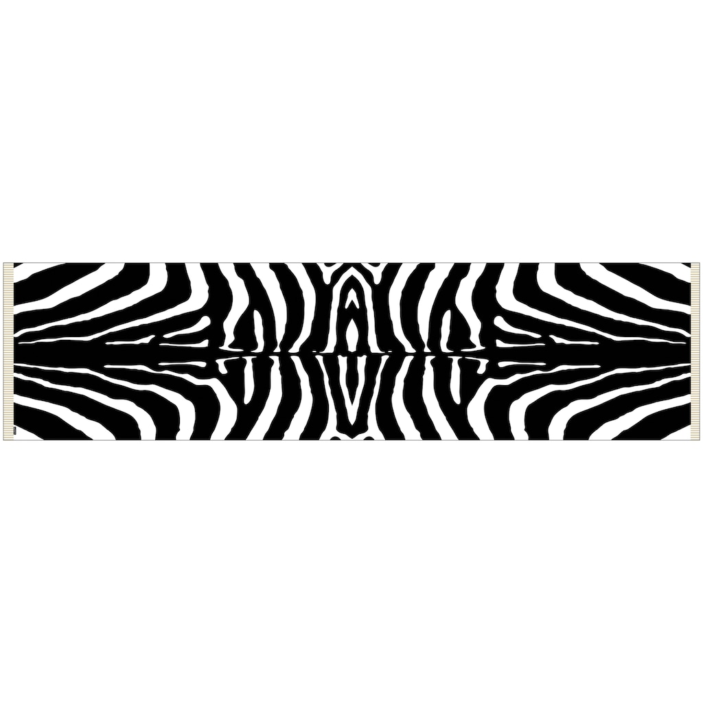 MySpotti Vinylteppich »Buddy Rosalie G«, rechteckig, 0,03 mm Höhe, statisch haftend, Zebra
