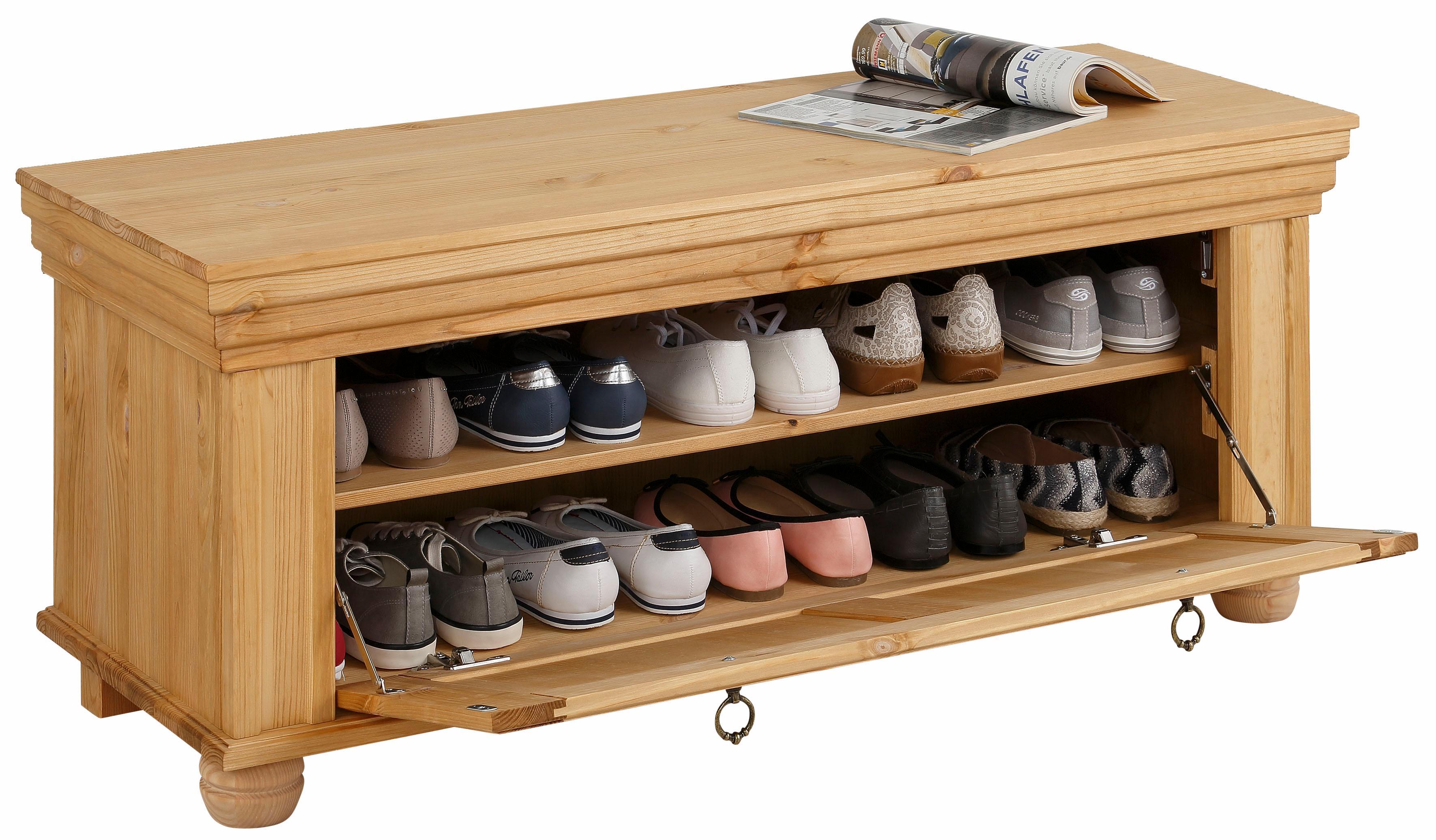 home affaire schuhbank m nchen mit dekorativen. Black Bedroom Furniture Sets. Home Design Ideas