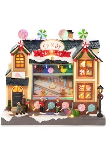 KONSTSMIDE LED Dekolicht, LED Szenerie Süßigkeitenfabrik mit Animation und 8... kaufen