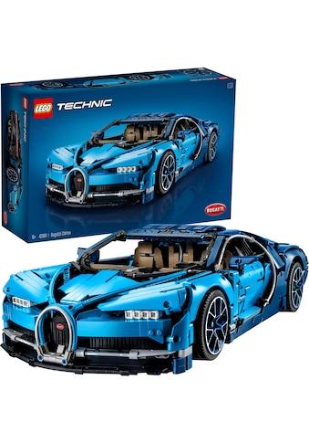 """LEGO® Konstruktionsspielsteine """"Bugatti Chiron (42083), LEGO® Technic"""", (3599 - tlg.) kaufen"""