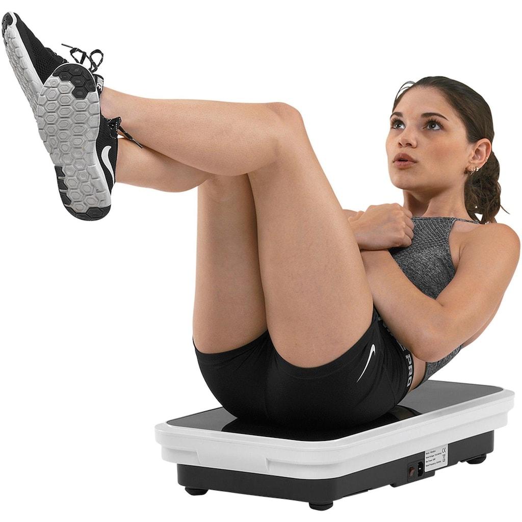 MAXXUS Vibrationsplatte »Lifeplate 2.0« (Set, 3-tlg., mit Trainingsbändern mit Trainingsplan)