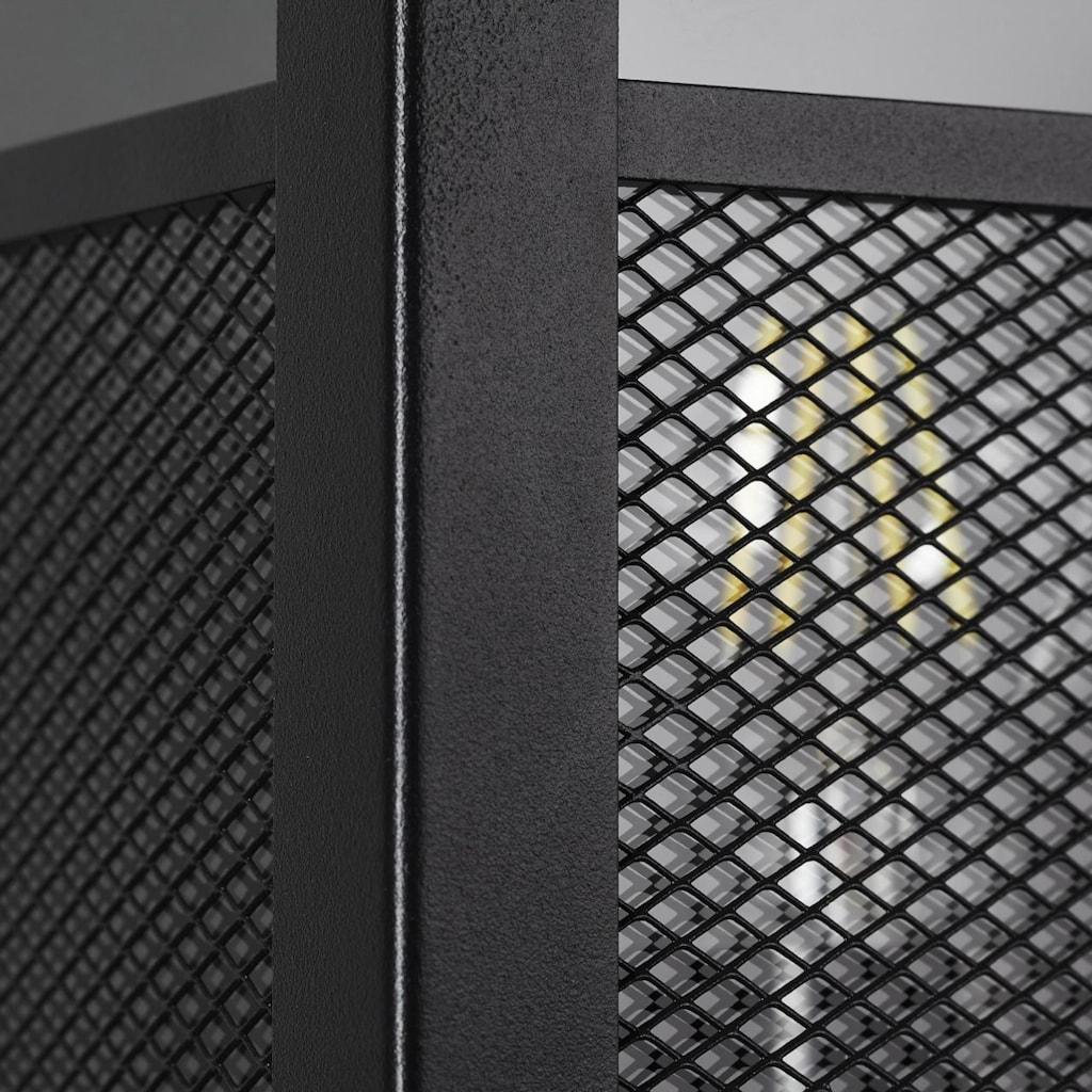 Brilliant Leuchten Außen-Wandleuchte, E27, Getta Außenwandleuchte schwarz