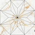MySpotti Vinylteppich »Buddy Kelly Star«, rund, 0,03 mm Höhe, rund, wasserfest und statisch haftend
