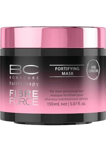 Schwarzkopf Professional Haarmaske »BC Bonacure Fibre Force Fortifying Mask«, Für übermäßig behandeltes Haar kaufen