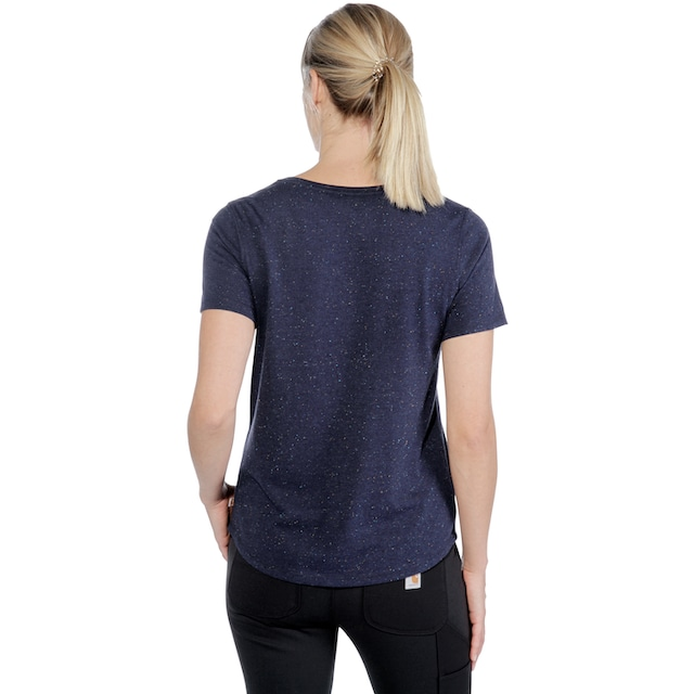 CARHARTT T-Shirt »LOCKHART SCRIPT GRAPHIC T-SHIRT«, INFANTRY BLUE