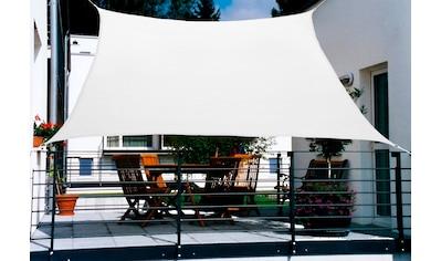 FLORACORD Sonnensegel , BxL: 270x140 cm, cremeweiß kaufen