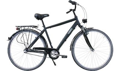HAWK Bikes Trekkingrad »HAWK Citytrek Gent Premium Black«, 3 Gang Shimano Nexus Schaltwerk kaufen