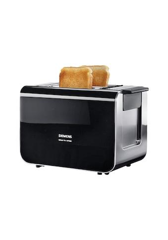 SIEMENS Toaster »Sensor for Senses TT86103«, für 2 Scheiben, 860 Watt kaufen