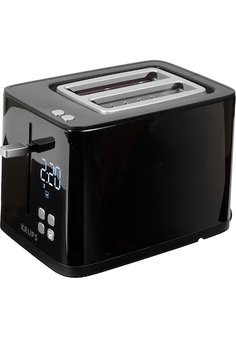 Krups Toaster »Smart'n Light KH6418;«, 2 kurze Schlitze, 800 W, Digitaldisplay; 7... kaufen