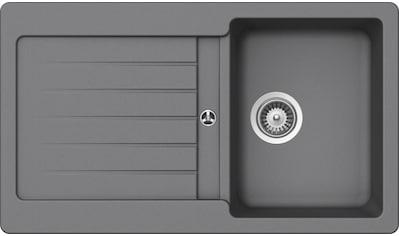 SCHOCK Granitspüle »Family Big«, ohne Restebecken, 86 x 50 cm kaufen