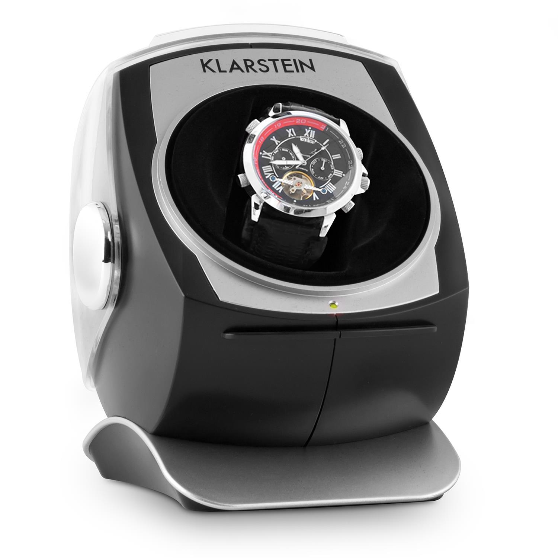 Klarstein Uhrenbeweger R/L-Lauf 1 Uhr schwarz »Senna« | Uhren > Uhrenbeweger | Schwarz | KLARSTEIN
