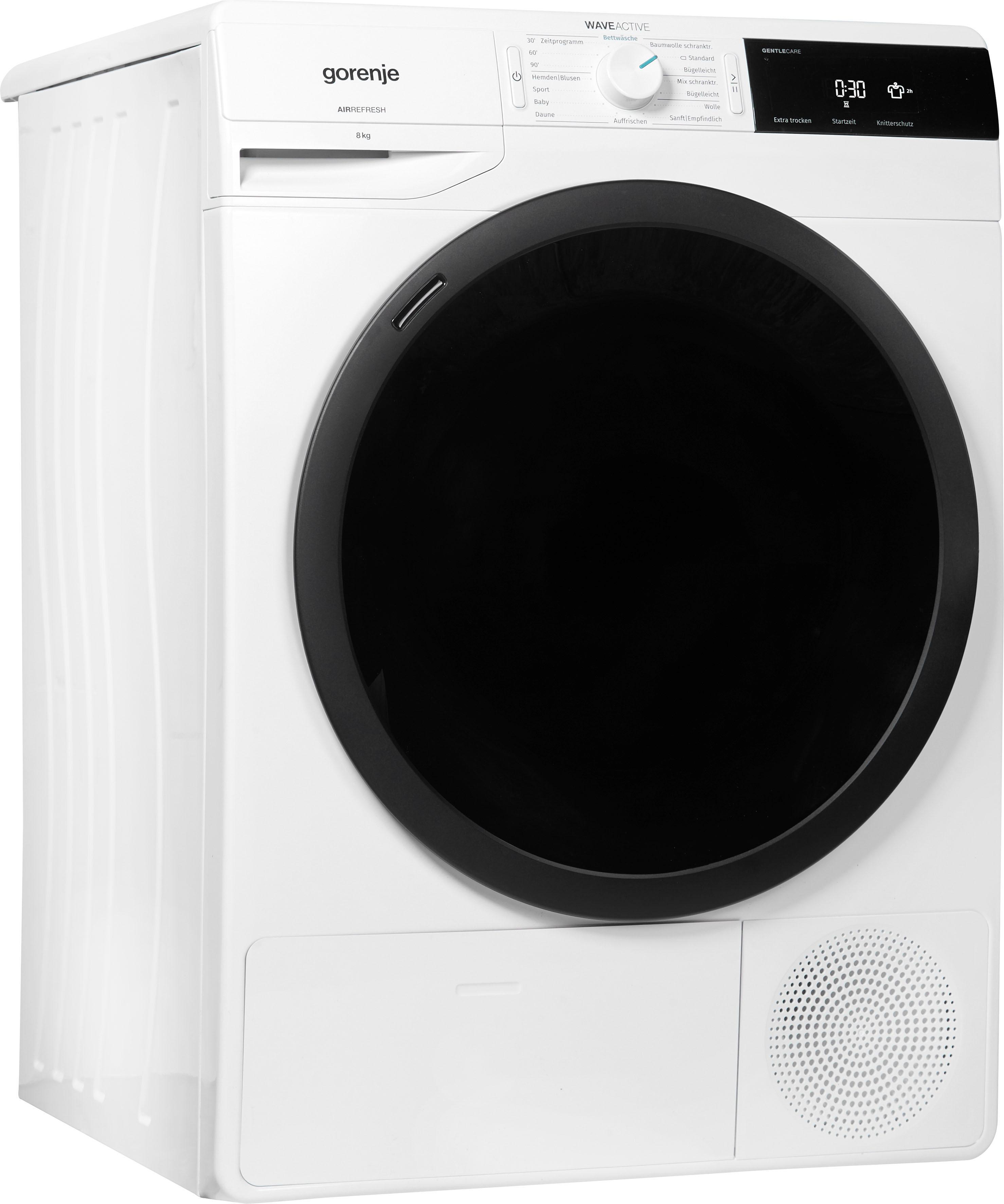 GORENJE Kondenstrockner WaveD E8B, 8 kg   Bad > Waschmaschinen und Trockner > Kondenstrockner   Gorenje