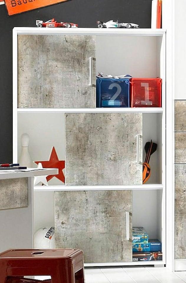 rauch pack s regal mailo mit schiebet ren auf rechnung. Black Bedroom Furniture Sets. Home Design Ideas