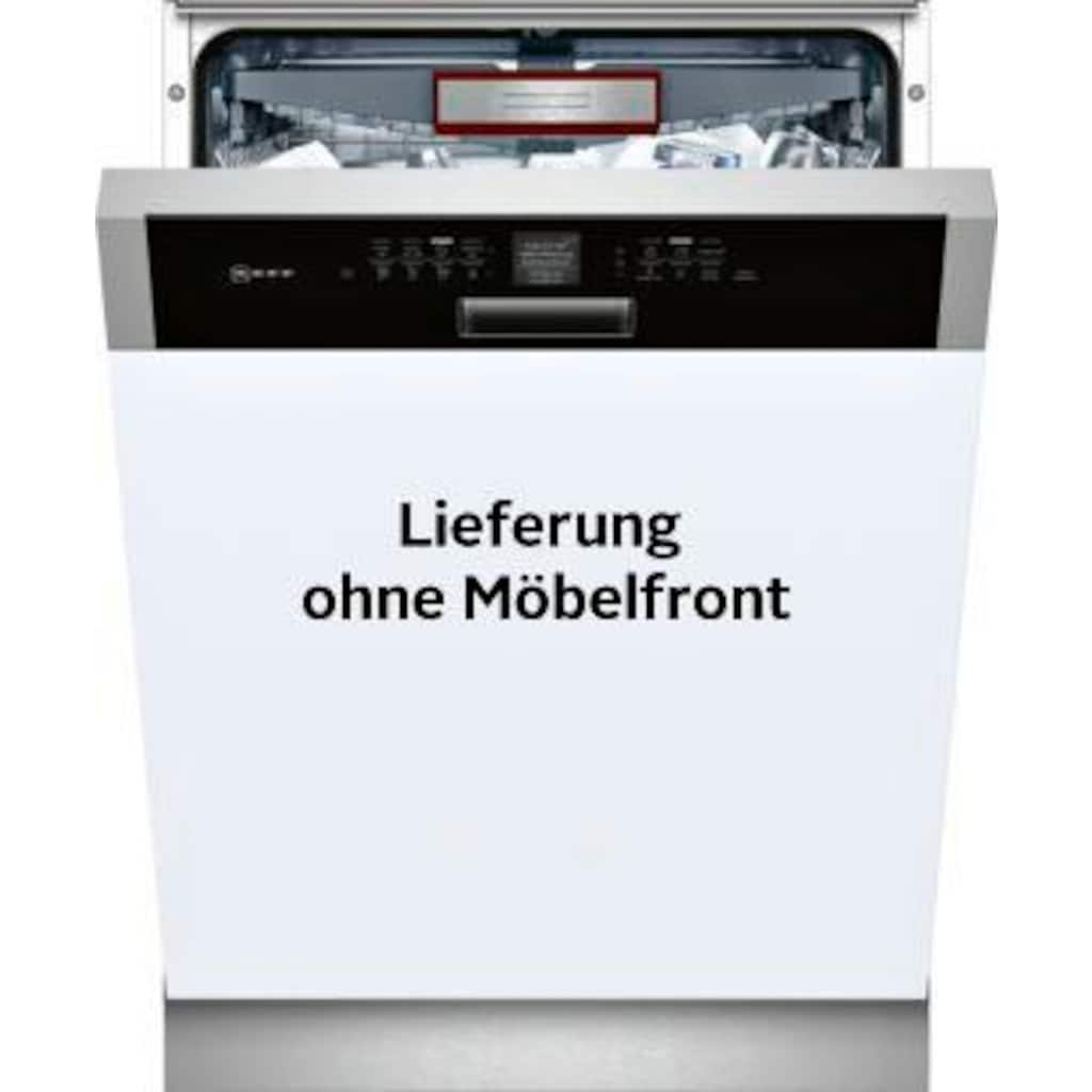NEFF teilintegrierbarer Geschirrspüler »S426T80S1E«, N 70, S426T80S1E, 9,5 l, 14 Maßgedecke
