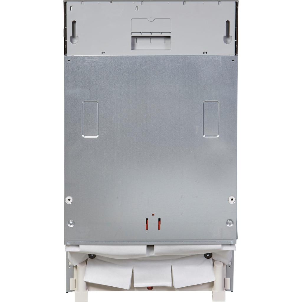 BAUKNECHT vollintegrierbarer Geschirrspüler »BSIO 3T223 PE X«, BSIO 3T223 PE X (2), 10 Maßgedecke
