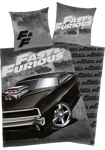 Jugendbettwäsche »Fast & Furious«, mit coolem Motiv kaufen