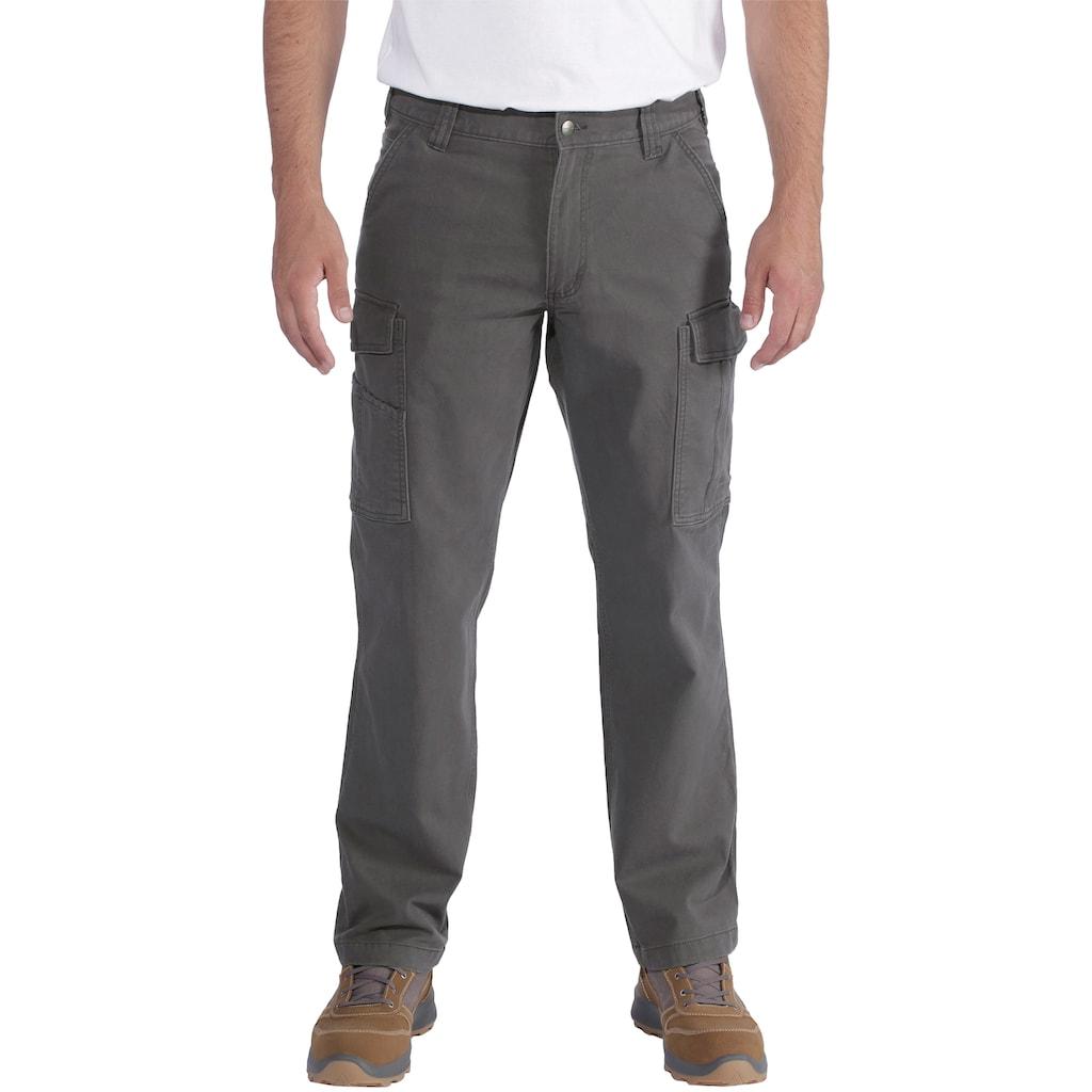 CARHARTT Arbeitshose »RUGGED FLEX RIGBY CARGO PANT«, mit Handytasche, Baumwolle