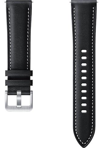 Samsung Uhrenarmband »Stitch Leather Band ET-SLR85 20 mm« kaufen