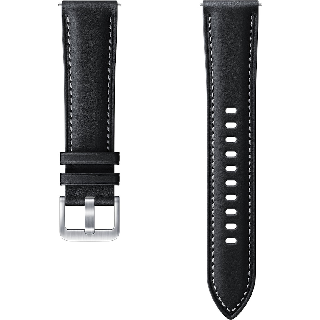 Samsung Uhrenarmband »Stitch Leather Band ET-SLR85 20 mm«