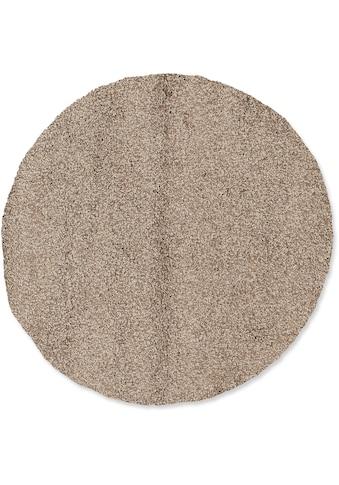 OCI DIE TEPPICHMARKE Teppich »LOBBY SHAGGY«, rund, 52 mm Höhe, Wohnzimmer kaufen
