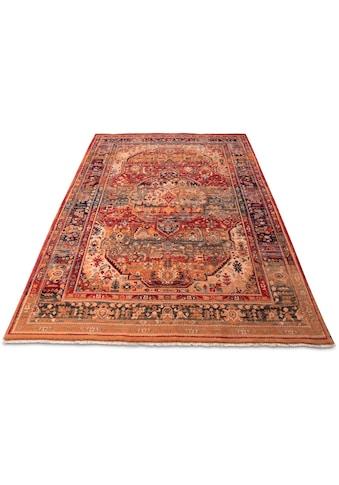 THEKO Wollteppich »Saharna 7518«, rechteckig, 12 mm Höhe, reine Wolle, Orient-Optik,... kaufen
