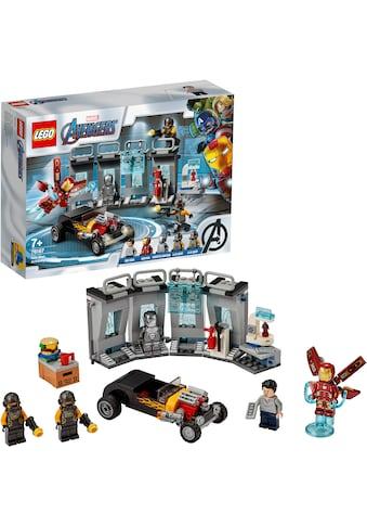 LEGO® Konstruktionsspielsteine »Iron Mans Arsenal (76167), LEGO® Marvel Super Heroes«, (258 St.), Made in Europe kaufen