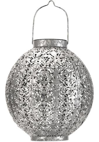 Pauleen LED Laterne »Sunshine Aura«, 1 St., Warmweiß, Solarbetrieben, Silber kaufen