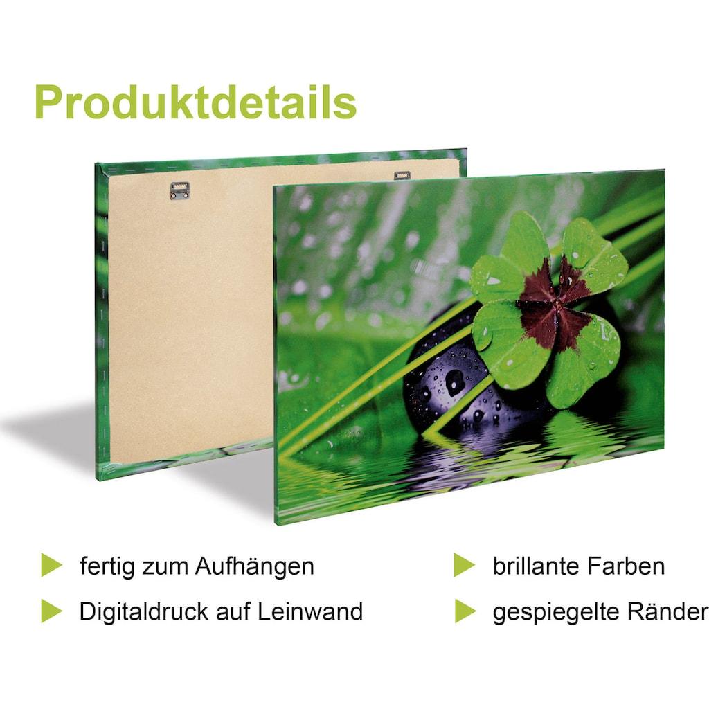 Artland Leinwandbild »Kaffee I, -II, -III, -IV«, Getränke, (4 St.)