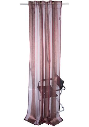 Vorhang, »JANA«, Linne, verdeckte Schlaufen 1 Stück kaufen