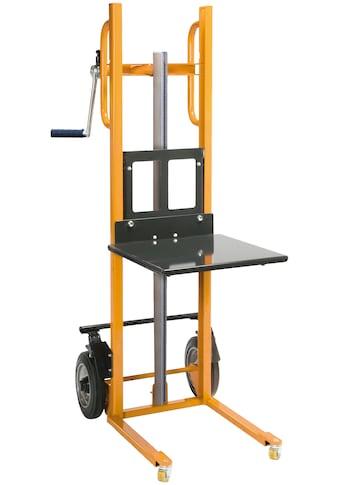 PROTAURUS Materialheber »30 - 1122«, mit Plattform, handverfahrbar kaufen