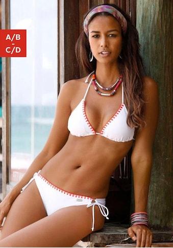 Buffalo Triangel-Bikini, mit Häkelkante kaufen