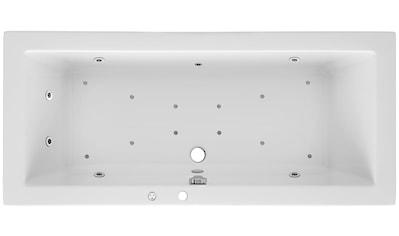 OTTOFOND Whirlpoolwanne »Cubic«, B/T/H in cm: 180/80/62,5; Whirlpool - System Premium kaufen
