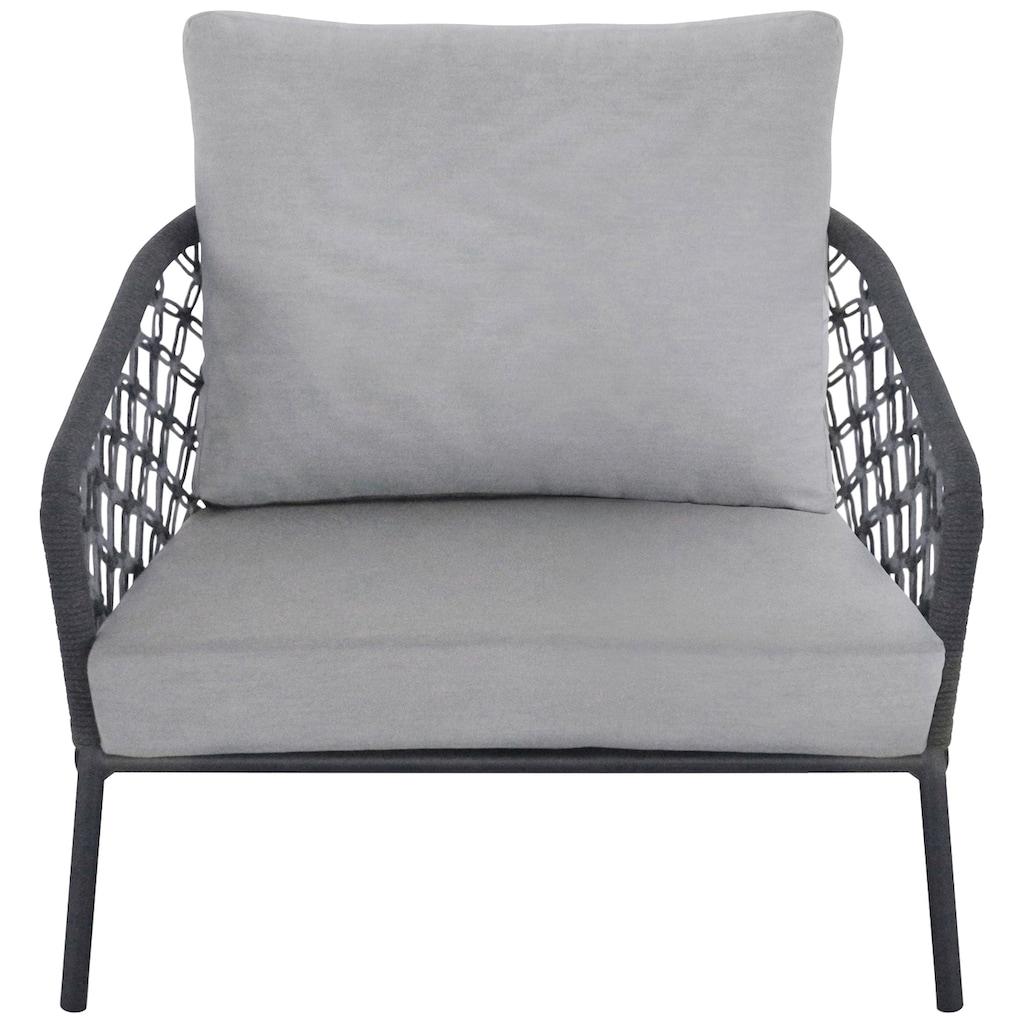 Best Loungesessel »Lounge Sessel Mali«, Aluminium, inkl. Auflage