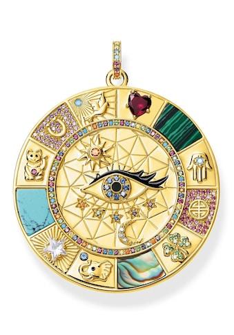 THOMAS SABO Kettenanhänger »Amulette magische Glückssymbole, PE855-993-7«, mit... kaufen