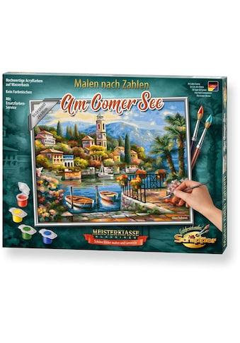 Schipper Malen nach Zahlen »Meisterklasse Premium - Am Comer See«, Made in Germany kaufen