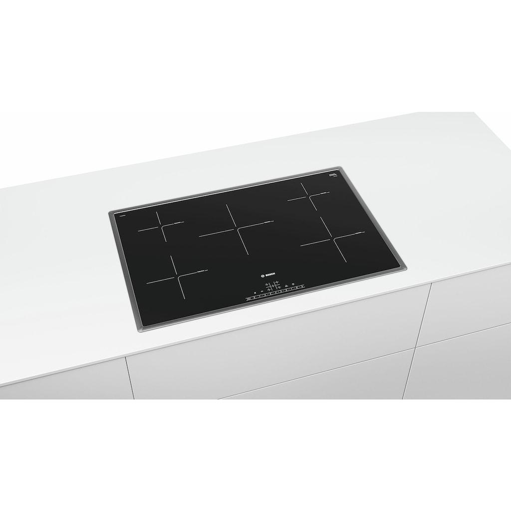 BOSCH Induktions-Kochfeld von SCHOTT CERAN®, PIV845FB1E, mit Timer