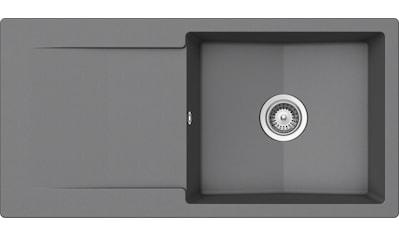 SCHOCK Granitspüle »Pisa«, großes Becken, 100 x 50 cm kaufen