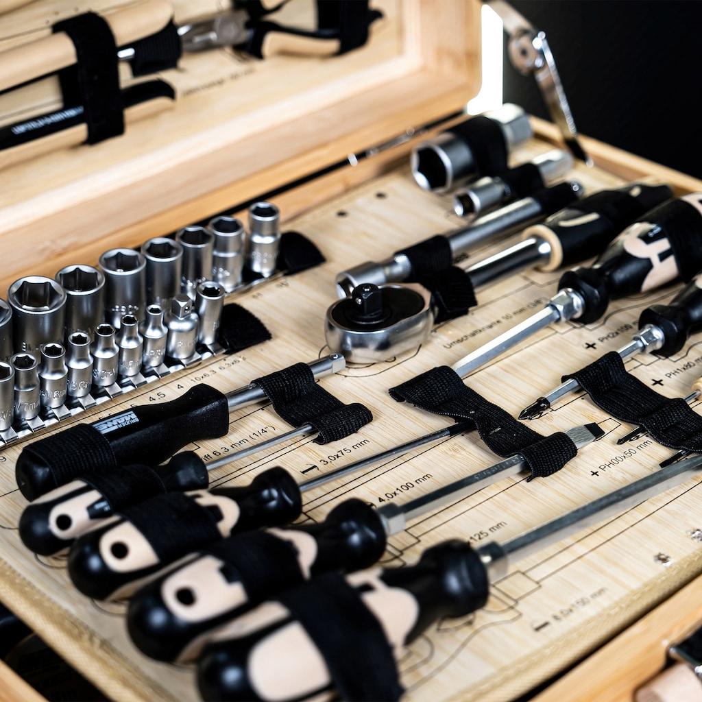Brüder Mannesmann Werkzeuge Werkzeugset, 108-tlg.