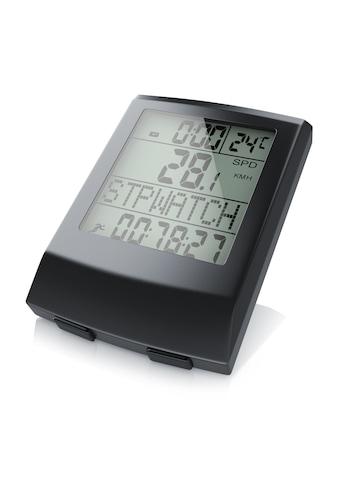 Aplic Sport Fahrradcomputer mit 17 Funktionen »kabellos / inkl. Geschwindigkeitssensor« kaufen