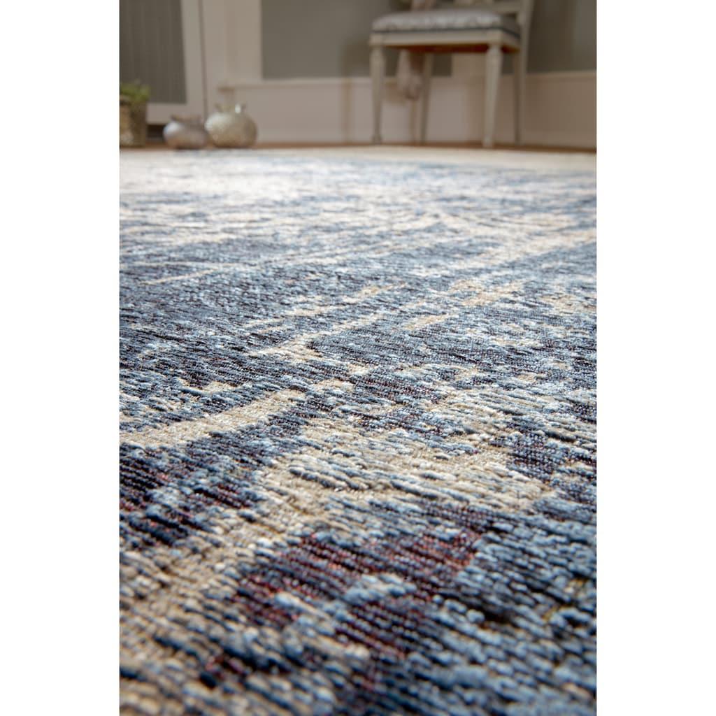 LUXOR living Teppich »Antique«, rechteckig, 6 mm Höhe, Flachgewebe, Vintage Design, Wohnzimmer