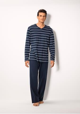 Schiesser Pyjama, in Streifen-Optik kaufen