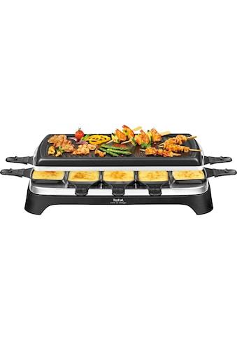 Tefal Raclette »RE4588«, 10 St. Raclettepfännchen, 1350 W, 10 Raclettepfännchen,... kaufen