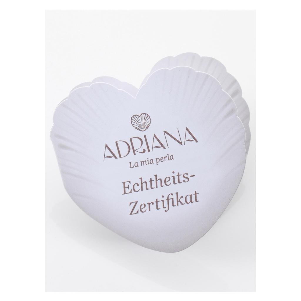 Adriana Silberarmband »PR4-67«, mit Tahitizuchtperlen, Made in Germany
